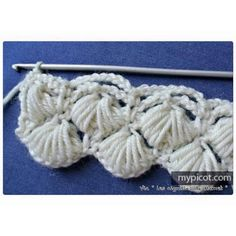 MyPicot is always looking for excellence and intends to be the most authentic, creative, and innovative advanced crochet laboratory in the world. Loom Knitting Patterns, Crochet Stitches Patterns, Crochet Designs, Stitch Patterns, Picot Crochet, Free Crochet, Crochet Books, Crochet Crafts, Crochet Circles