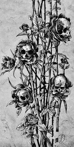 Skulls and thorns