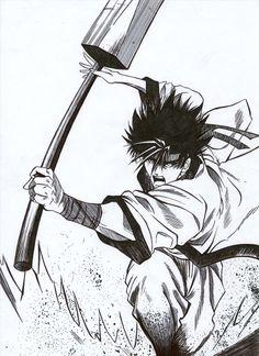10 de janeiro, 2002 Desenho no tamanho A4. Pintura feita totalmente com nanquim preto.