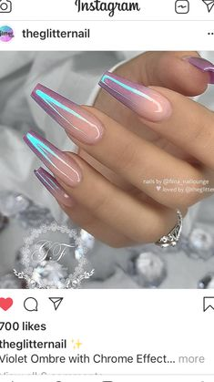 coffin nails #nailart #nailideas #nailartideas Aycrlic Nails, Hair And Nails, Coffin Nails Ombre, Matte Nails, Gorgeous Nails, Pretty Nails, Crome Nails, Fire Nails, Nagel Gel