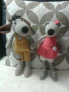 Hundchen aus 100 % Baumwolle, Polyesterfüllung und Sicherheitsaugen hergestellt, Größe ca. 30 cm