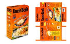 Uncle bens rice box .: