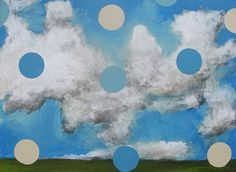 """We hope you are enjoying the holiday! Happy Easter from all of us at Modern West Fine Art! """"Skyscape"""" by Frank Buffalo Hyde #easter #art #artoftheday #spring #bluesky  http://ift.tt/2pmh6g4"""