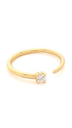 Shashi Solitaire Ring   SHOPBOP