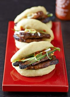 Steamed pork buns (Hirata buns)