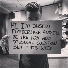 Justin Timberlake on SNL this weekend! Also - will advertisers be leaving?
