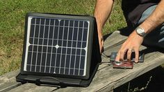 """SunVolt Portable Solar Power Station Charges Gadgets at """"Outlet-like"""" Speeds"""