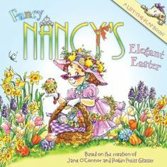 Nancy prepares an elegant Easter affair in this fancy new lift-the-flap book!    Throwing a fabulous and fancy Easter party is a very big job—and Nancy and Bree are in charge of decorating! This book includes thirteen flaps that open to reveal hidden surprises that will delight all festive Fancy Nancy fans!