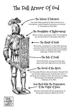 Free Printable - The full armor of God