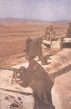 Rumänische Soldaten in Russland - Verbündete der  Wehrmacht-color photo-ww2shots