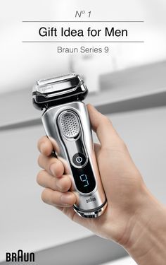 The Braun Series 9 Electric Shaver, GQ's 2016 Grooming Award winner, is the perfect holiday gift for your husband, father, boyfriend or brother. As the #1 grooming gift idea for men, you are giving the gift of the world's most efficient shaver.* Surprisingly Gentle.   *Proven on 3-day beards