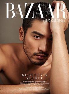 Godfrey Gao Harpers Bazaar Thailand 2015