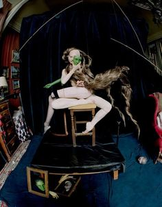 In A Silent Way  Publication: Vogue Italia October 2014 Model: Codie Young Photographer: Tim Walker