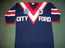 1980's Eastern Suburbs Rugby League Shirt Adults Sydney Roosters Australia