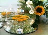 Sunflower centre piece