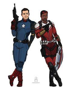 Marvel Dc, Marvel Comics, Captain America Movie, Bucky Barnes, Marvel Cinematic Universe, Comic Strips, Comic Art, Deadpool, Spiderman