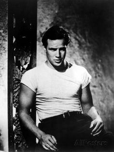 Um Bonde Chamado Desejo, Marlon Brando, 1951  Premium Poster