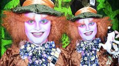 The Mad Hatter - Alice in Wonderland / Through the Looking Glass - Makeu...