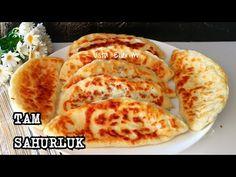 1 BARDAK SÜT VARSA SAHURA BU MUHTEŞEM TARİFİ KAÇIRMAYIN 👍🏻 - YouTube French Toast, Pizza, Dessert, Cheese, Cooking, Breakfast, Ethnic Recipes, Food, Recipe