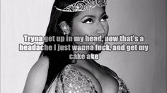 Nicki Minaj - Don't Hurt Me (Verse - Lyrics Video) - YouTube