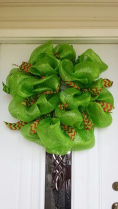 My first mesh wreath