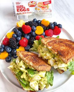 Bon Appétit! We are drooling over this delicious egg salad sandwich.