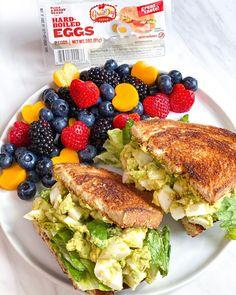 Bon Appétit! We are drooling over this delicious egg salad sandwich.