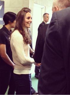 "kateofcambridge:  ""@govgeneralnz: The Duchess meeting her coaching team before kick-off #royalvisitnz #royalrugbyFollow"""
