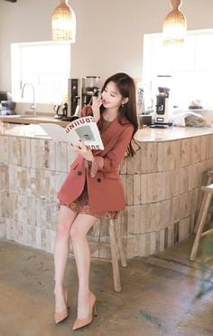 Office Outfits, Casual Outfits, Modern Fashion Outfits, Royal Style, Royal Fashion, Korean Style, Asian Beauty, Runway Fashion, Korean Fashion