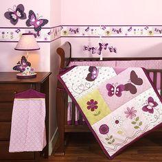 Bedtime Originals - Provence 4-Piece Crib Bedding Set - Walmart.com