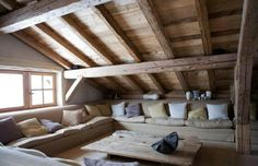 Would be awesome for any attic. Perfect for the teenagers hang out.