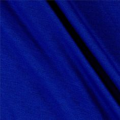 Jersey Knit Solid Cobalt from @fabricdotcom  This ultra soft, lightweight jersey knit fabric is very versatile and features a four-way stretch with 50% stretch across the grain and 30% vertical stretch. Use this fabric to create t-shirts, tops, skirts, dresses and children's apparel.
