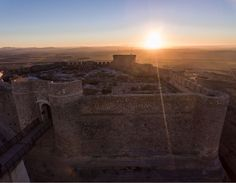 Wish you all the best in 2017 from my hometown in Spain Albacete. #sunset #castle #travelphotography #elindulgist #drone #droning #spain #albacete #chinchilla #castillalamancha