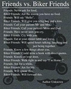Friends Vs Biker Friends!