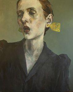 Ingebjorg Stoyva, Merket, 2018, GALLERI RAMFJORD Artsy, Acrylic Paintings, Portrait, Canvas, Artwork, Miami, Oil, Tela, Work Of Art