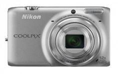 Nikon Coolpix S6500 Wi-Fi Digital Camera with 12x Zoom (Silver)