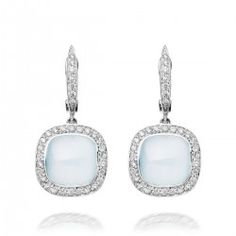 I love this 18 carat white gold milky aquamarine and diamond earrings from astleyclarke.com