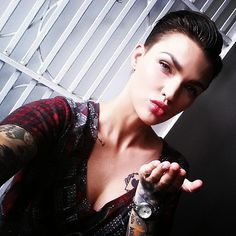 No, It's Not Hot in Here, It's Just Ruby Rose —See Her Sexiest Pictures