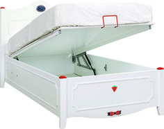 Cilek Strawberry Bett mit Bettkasten - Kostenloser Versand innerhalb…