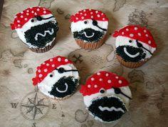 Pirate Cupcakes-Scruffy