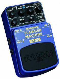 Behringer FL600 Flanger Machine Ultimate Flanger Modeling Effects Pedal by Behringer. $39.50