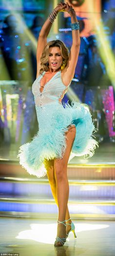 Been there, done that: Abbey was crowned the Strictly Come Dancing champion last year...