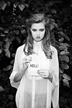 Lindsey Wixson by Terry Richardson for Purple Fashion, F/W 2011.