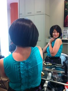 ~ Natasha Fatah ~  New short hair cut