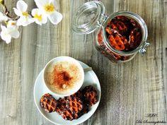 Die Sonntagsköchin: kleiner Nachschub...Erdnuss Honig Mini Waffeln