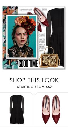 """""""GOOD TIME"""" by emmas-fashion-diary ❤ liked on Polyvore featuring Burberry, Dolce&Gabbana, women's clothing, women, female, woman, misses and juniors"""