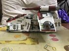 LEGO Star Wars Republic Gunship 7676 Nearly Complete Minifigures Commander Cody Shop & Save $260.00 Star Wars Toys, Lego Star Wars, Republic Gunship, Lego Super Mario, Asajj Ventress, Hogwarts Great Hall, Lego For Kids, Lego Harry Potter, Clone Trooper