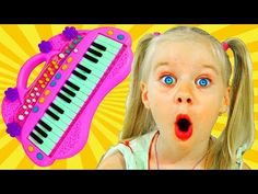 Bad Sister with Tantrum and Crying Little Babies Learn Colors with Lipstick Finger Family song - YouTube