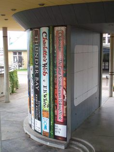 """Duluth Public Library's """"large print"""" books Bookstores, Libraries, Modern Books, Playground Design, Library Programs, Book Stuff, Large Prints, Book Art, Scandinavian"""