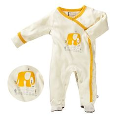 Baby Soy Illustrated Organic Footie $24.95